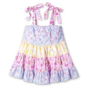 LoveShackFancy Target Jeanne TieStrap Tier dress L